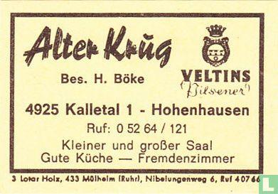 Alter Krug - H. Böke