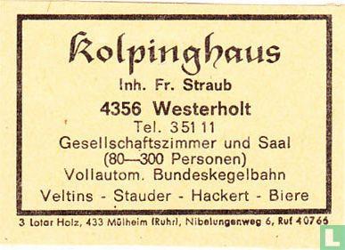 Kolpinghaus - Fr. Straub
