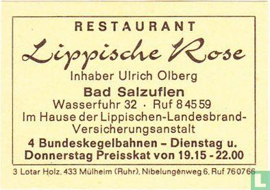 Restaurant Lippische Rose - Ulrich Olberg