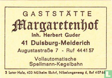 Gaststätte Margaretenklause - Herbert Guder