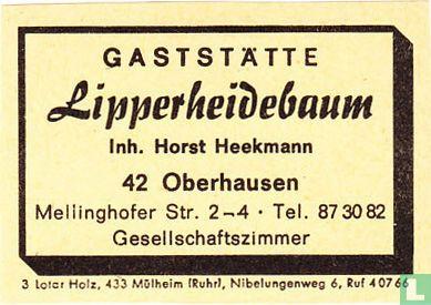 Gaststätte Lipperheidebaum - Horst Heekmann