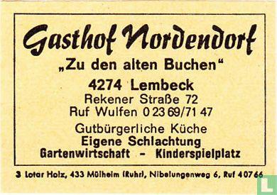 """Gasthof Nordendorf """"Zu den alten Buchen"""""""