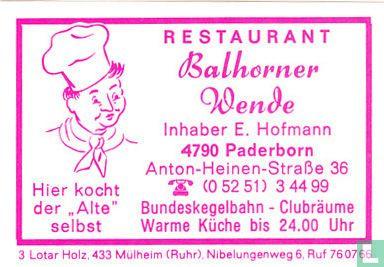 Balhorner Wende - E. Hofmann