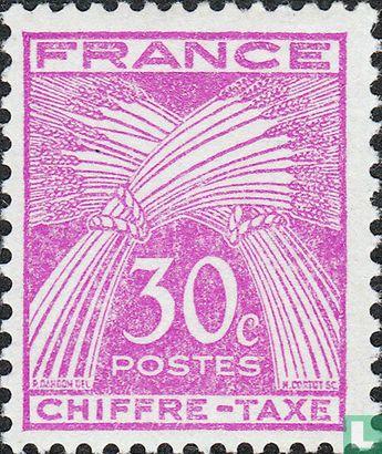 France [FRA] - Sheafs of wheat