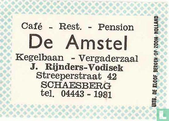 Cafe Restaurant Pension De Amstel