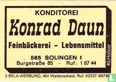 Konditorei Konrad Daun