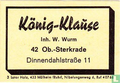 König Klause - W. Wurm