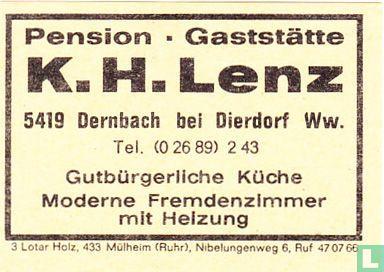 Pension - Gaststätte K.H. Lenz