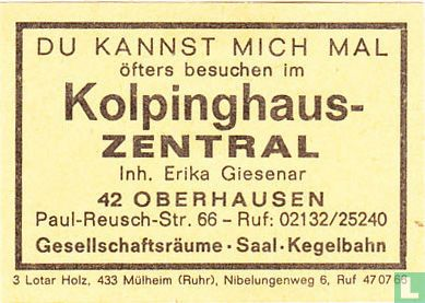 Kolpinghaus Zentral - Erika Giesenar