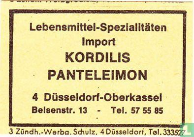 Lebensmittel-Spezialitäten Kordilis Panteleimon