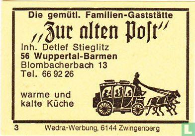 """""""Zur alten Post"""" - Detlef Stieglitz"""