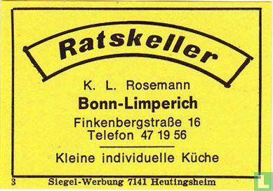 Ratskeller - K.L. Rosemann
