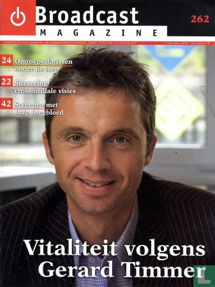 Broadcast Magazine - BM 262 - Image 1