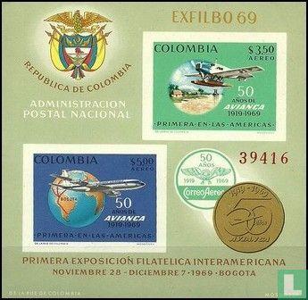 Colombia - 50 Jaar AVIANCA