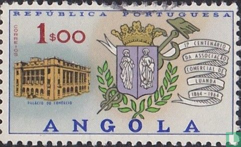 Angola [AGO] - 100 jaar Commerciele associatie van Luanda