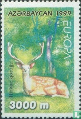 Azerbaijan - Europa - Nature reserves and parks