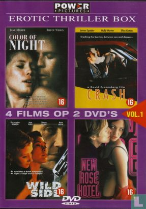 DVD - Erotic Thriller Box