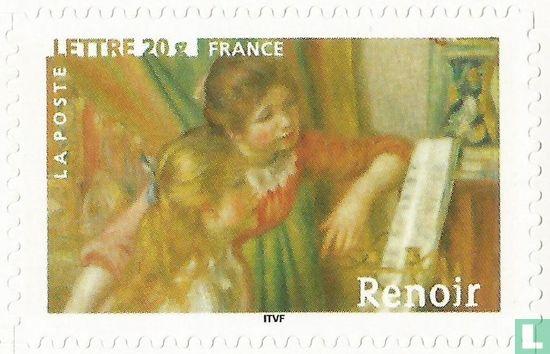 Frankrijk [FRA] - Twee meisjes aan de piano