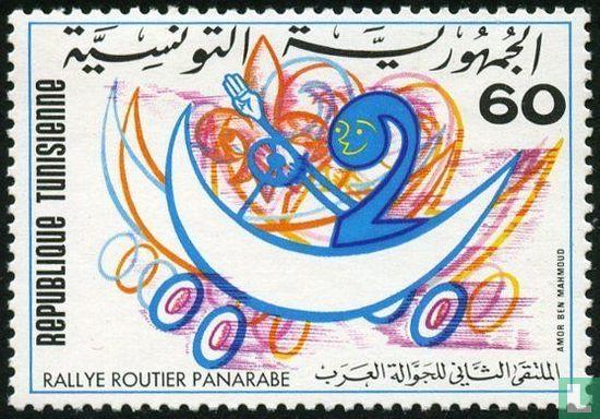 Tunesië - Pan-Arab Auto Race