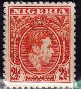 Nigeria - Koning George VI