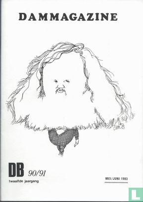 Dammagazine DB [damspel] 90 / 91 - Afbeelding 1