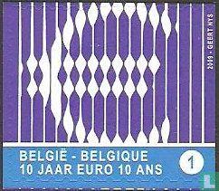 België [BEL] - 10 jaar Euro