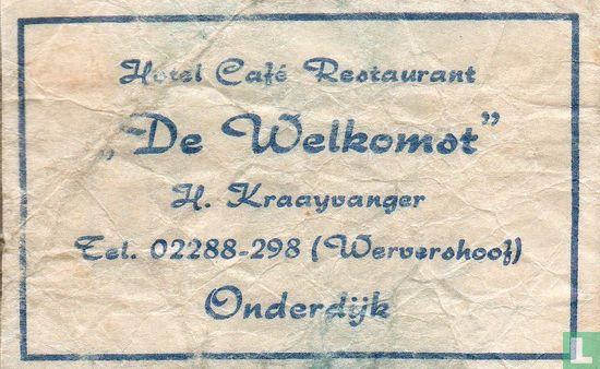 "Sachet - Hotel Café Restaurant ""De Welkomst"""