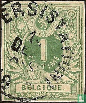 België [BEL] - Liggende leeuw met wapenschild