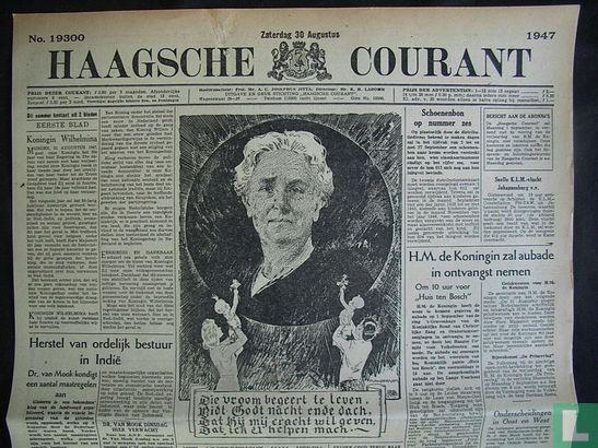 Haagsche Courant 19300 - Afbeelding 1