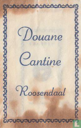 Sachet - Douane Cantine