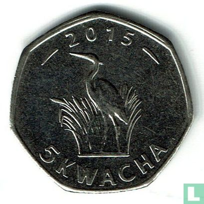 Malawi - Malawi 5 kwacha 2015