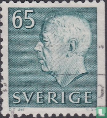 Sweden [SWE] - King Gustaaf VI Adolf