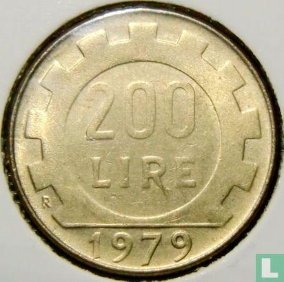 Italy - Italy 200 lire 1979