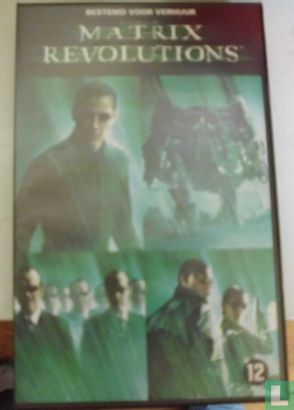 VHS videoband - The Matrix Revolutions