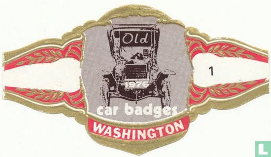 Washington - Old 1976 car badges