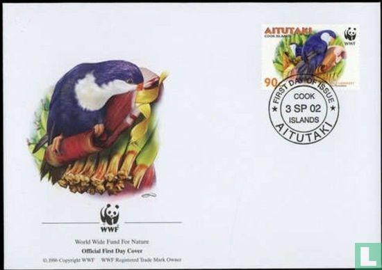 Aitutaki - WWF - Saffierlori
