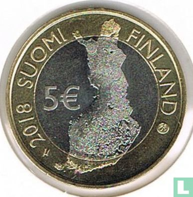 "Finland 5 euro 2018 ""Finnish national landscapes - Pallastunturi fells"" - Image 1"