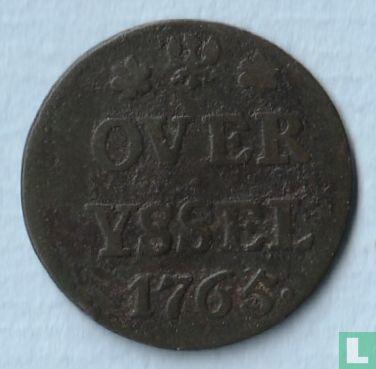 Overijssel - Overijssel 1 duit 1765