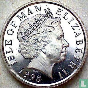Insel of Man 10 Pence 1998 (ohne Triskeles) - Bild 1