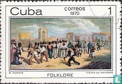 Cuba - Afro-Cubaanse schilderijen