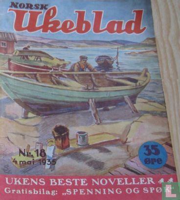 Norsk Ukeblad 18