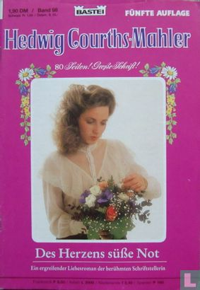 Hedwig Courths-Mahler Fünfte Auflage 98 - Afbeelding 1