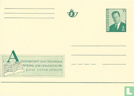 België [BEL] - Een abonnement op de nieuwe postzegels