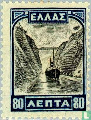 Griechenland - Kanal von Korinth