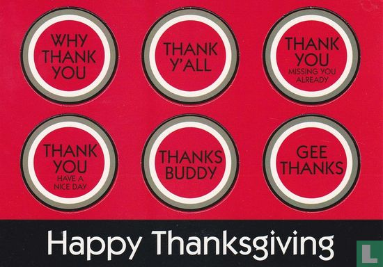 """Lucky Strike """"Happy Thanksgiving"""" - Afbeelding 1"""