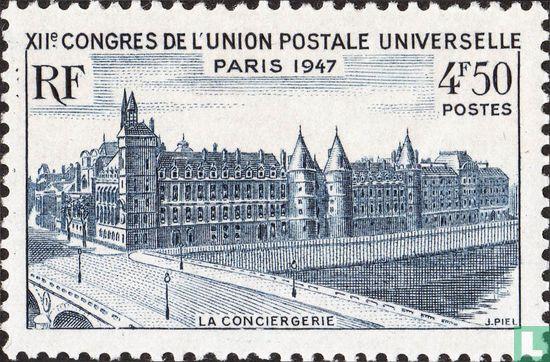 Frankrijk [FRA] - 12e UPU congres