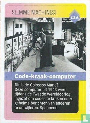 Albert Heijn - Code-kraak-computer