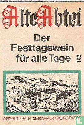Alte Abtei - Der Festtagwein für alle Tage
