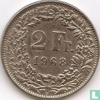 Switzerland - Switzerland 2 francs 1968 (B)