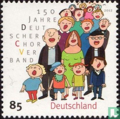 Allemagne [DEU] - 150 ans de l'association chorale allemande